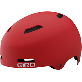 Giro Quarter FS Helmet matte trim red